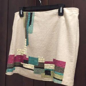 Never worn Mini A line  gorgeous skirt